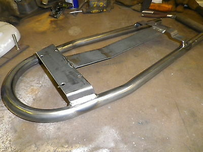 Universal Seat Loop/Frame Cafe Racer/Flat Tracker with brackets for ebay seat