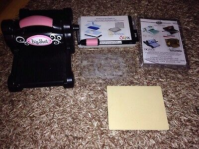 Sizzix Big Shot Die Cutting Machine With Extras