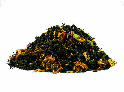Melone-Guava Luxury Flavoured Green Loose Leaf Tea (25g - 500g)