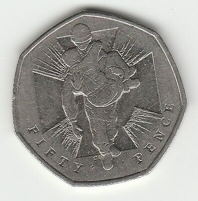 V C Heroes 2006  50p COIN RARE FIFTY PENCE