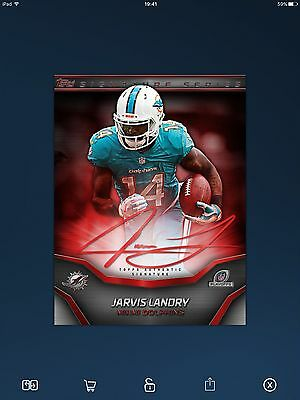 Topps Huddle Playoff Signature Series Jarvis Landry DIGITAL CARD