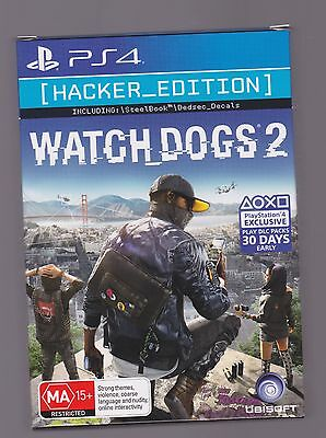 Ps4 Watch Dogs 2 Hacker Edition
