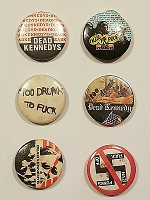 The Dead Kennendys pin badges