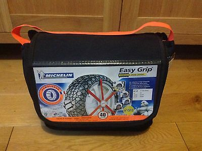 Michelin Easy Grip Composite Snow Chains Sock G12