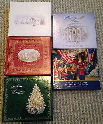 Lot 5 2006 - 2010 White House Historical Association Ornaments
