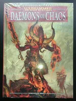 Warhammer Fantasy Daemons of Chaos Army Book - Brand New and sealed