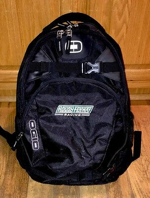 ROUSH FORD PIT Crew Nascar OGIO REBEL Travel Backpack Bag Team Gear Pit Crew