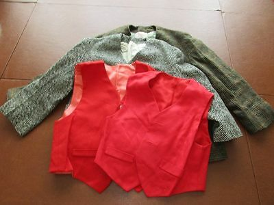 Lot of Vintage 50-70's Handmade Boys Clothes