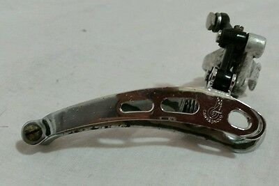 Campagnolo Super Record Front Derailleur Clamp On 28.6mm