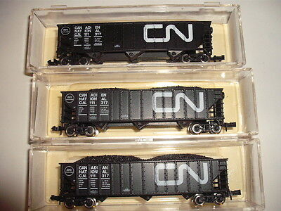 N Scale Canadian National Hoppers