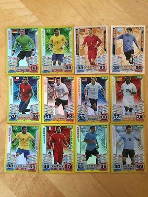 Match Attax World Cup Brazil 2014 Bundle Inc 100 Cards And Limited Editions