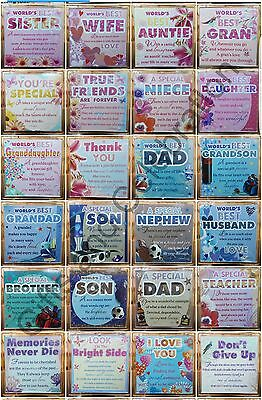 Sentimental Fridge Magnets for Mother, Daughter, Sister, wife, Dad, Son and othe