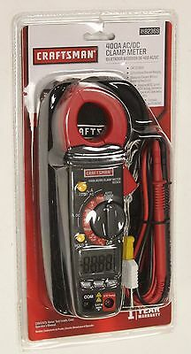 NEW  Craftsman 400A AC/DC Clamp Meter 82369