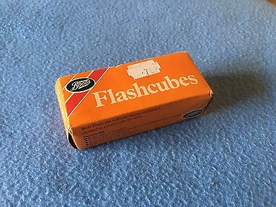 Vintage Boots Flash Cubes x 3 In Original Box