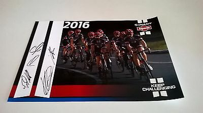 Personally Signed Giant/alpecin 2016 Team Cycling Photo