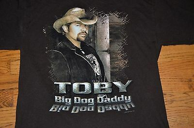 Toby Keith Big Dog Daddy 2007 Concert Tour T-shirt Large