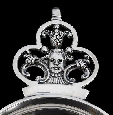 FRENCH STERLING SILVER Wine Taster CRISTOFLE RENAISSANCE MASCARONS CARDEILHAC
