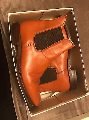 CHEANEY SUPER HAMPTON Tan Leather Boots