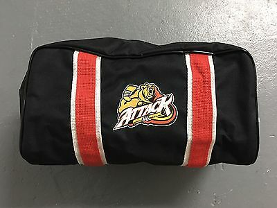 New! Eagle Owen Sound Attack OHL Pro Stock Hockey Player Toiletry Travel Kit Bag