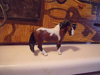 "Schleich Horse 4""x 4""  Pony Custom OOAK Bay Paint. B.Gress"