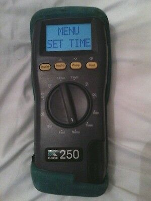 **BARGAIN PRICE**Kane 250 FLUE GAS Analyser with rubber boot