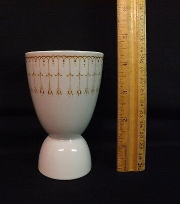 Grindley England Double Egg Cup with Interesting Deco Pattern. Great Condition.