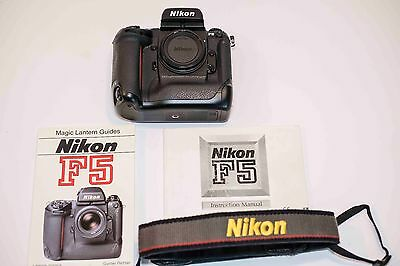 Nikon F5 35mm SLR Film Camera Body Only Excellent Condition
