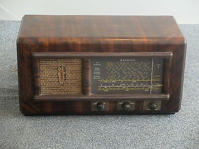 AWA Radiola Bandmaster Radio Timber Case