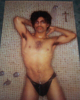 Music Icon Prince  Controversy Album Shower  Poster (FAST SHIPPING)