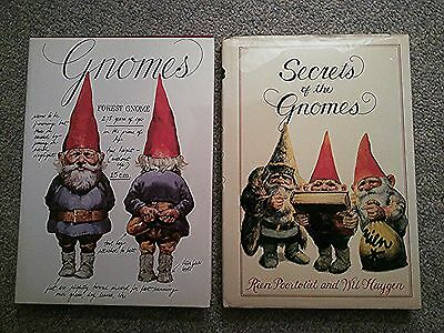 Secrets of the Gnomes (VG) & Gnomes (NEW) - Poortvliet & Huygen - Hardcover