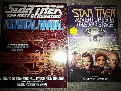 Star Trek Adventures in Time and Space and Technical Manual - Great Condition