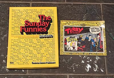 The Sunday Funnies 1896-1950 (50+ Color Newspaper Reprints) + Terry & Pirates