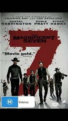 The Magnificent Seven (DVD, 2016) Brand New Sealed Region 4