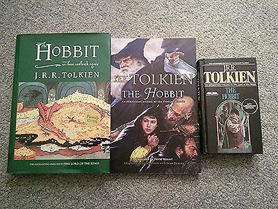 The Hobbit - J.R.R.Tolkien - Lot of 3 Books