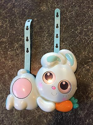 Mint! Ouaps Jojo Baby Night Projector Bunny  **HARD TO FIND**