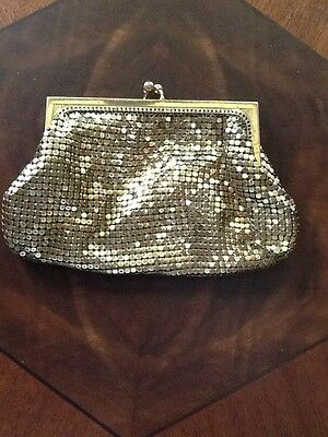 Beautiful Whiting And Davis Vintage Purse