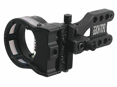 New Spot Hogg Real Deal 5 pin bow sight Left Hand w/Large wrapped guard  .019