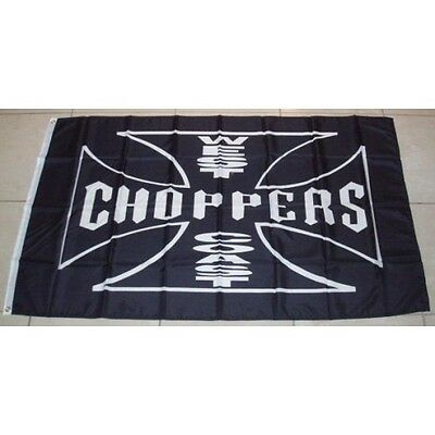 West Coast Choppers Official Flag 3'x 5' Banner made in USA