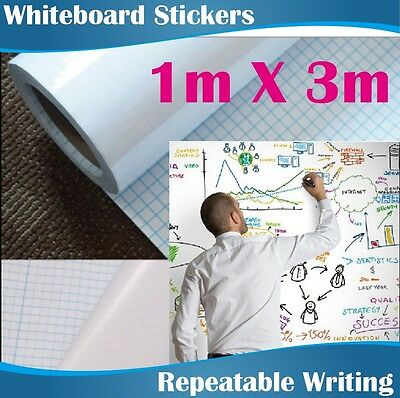 1Mx3M Large Whiteboard Stick/removeable whiteboard sticker Express
