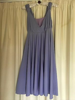 Womens Purple Lyrical Contemporary Dance Costume Size 8