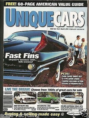 Unique Cars Magazine Issue 231 - 2004 Fast Fins - Chrysler's Awesome 300F....