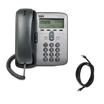 Cisco Unified IP Phone 7912G in Black - A Grade