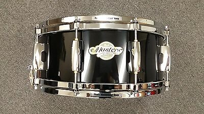 Pearl Masters Maple MCX Piano Black Lacquer 5.5x14 Snare Drum