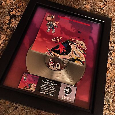 Kanye West Graduation Platinum Record Disc Album Music Award RIAA MTV Jay Z