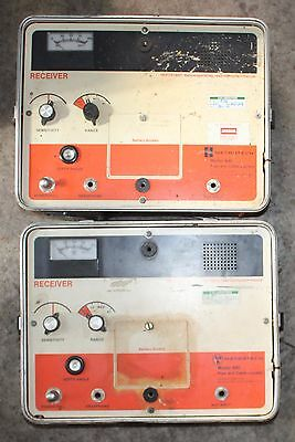 2 x Metrotech 480 Cable Locator Receiver Units