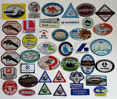 40 Mining Stickers For Toolbob Work Bench Hard Hat Etc