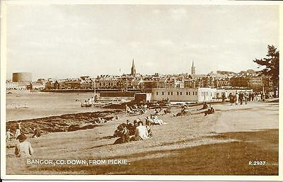 Vintage Postcard Bangor, Co. down, Ireland from Pickie Unposted