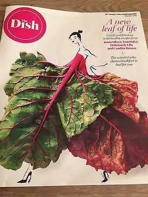 TOM DALEY CANDICE BROWN JAMIE OLIVER The Dish Sunday Times 42 Pages Of Food