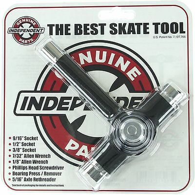 Independent Lance Mountain Shield Stage11 Hollow Skate Trucks Pewter - Indys 159