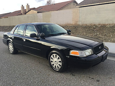 2008 Ford Crown Victoria SEDAN 2008 crown victoria real nice detective car GREAT CONDITION LOW RESERVE